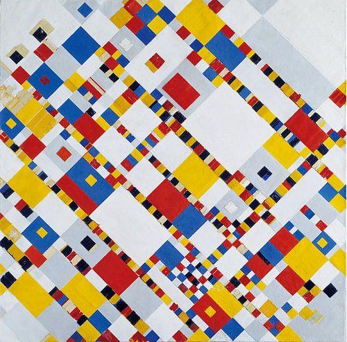 Piet Mondriaan. Victory Boogie Woogie van 1000 Schilderijen