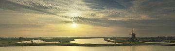 Molen het Noorden Texel Zonsondergang sur Texel360Fotografie Richard Heerschap