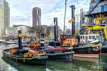 sleepboten, Rotterdam van Fotografie Arthur van Leeuwen