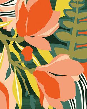 Blühendes Grün, Megan Gallagher von Wild Apple
