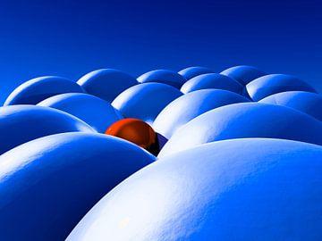 De blauwe knikkers van Alexandra Kleist