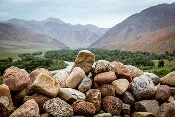 Kirgisische Berge von Julian Buijzen