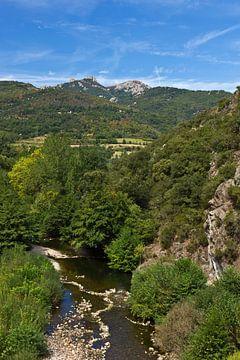 Rivierlandschap in het zuiden van Frankrijk van Anja B. Schäfer