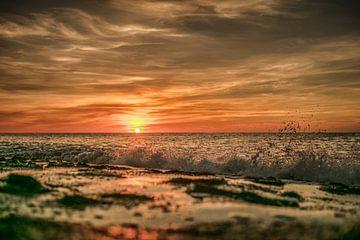 westkapele zonsondergang van