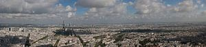 Kleur panorama Parijs