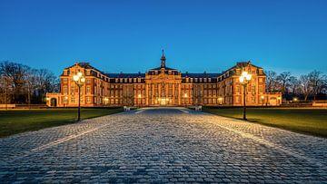 Le château de Münster à l'heure bleue sur Steffen Peters