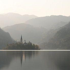 Bloedmeer in Slovenië van Michael Valjak
