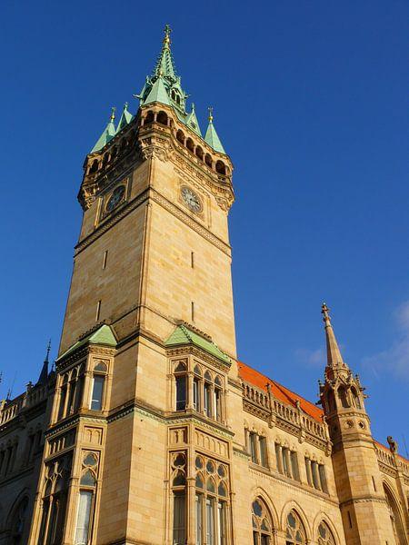 Braunschweiger Rathausturm van Barbara Hilmer-Schroeer
