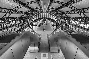 Der Bosch-Bahnhof von Helma Tielemans