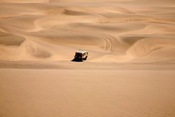 Namib woestijn in Namibië van