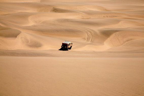 Namib woestijn in Namibië