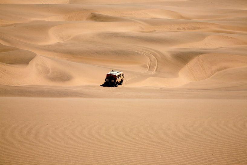 Namib woestijn in Namibië van Jan van Reij