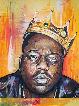 the Notorious B.I.G. schilderij van Jos Hoppenbrouwers