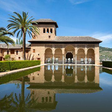 Alhambra de Granada, Palicio del Partal. van Hennnie Keeris