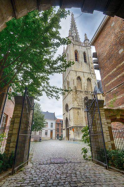 Kerk in Leuven van Mark Bolijn