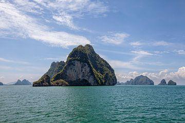 Tropische eilanden, Trat-archipel, Thailand van Tjeerd Kruse