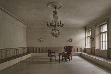 Espace de séjour minimaliste sur Perry Wiertz