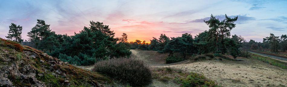Boshuizerbergen Sunrise van William Mevissen