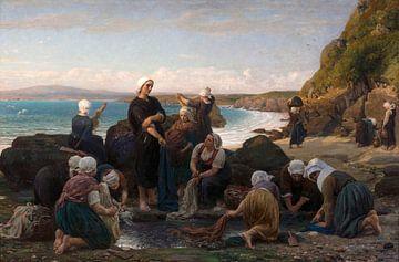 Die Wäscherinnen der bretonischen Küste, Jules Breton
