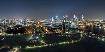 Skyline Rotterdam van Peter Sneijders