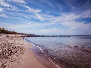 Am Strand von Kühlungsborn an der Ostsee von Animaflora PicsStock