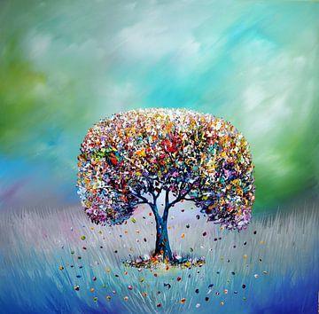 Glücksbaum von Gena Theheartofart