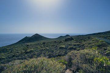 Paysage á La Palma prés El Faro sur Rob van der Pijll
