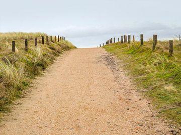 Weg am Strand von Achim Prill