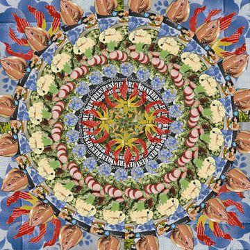 Gloriosa Mandala von Ruud van Koningsbrugge
