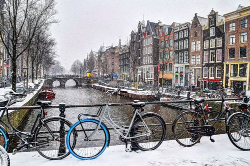 Amsterdam Winter Oudezijds Voorburgwal