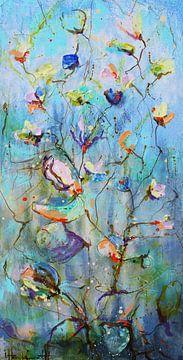 Les fleurs de l'aube sur Atelier Paint-Ing