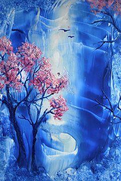 Kirschblüte von Suzanne Van Gompel