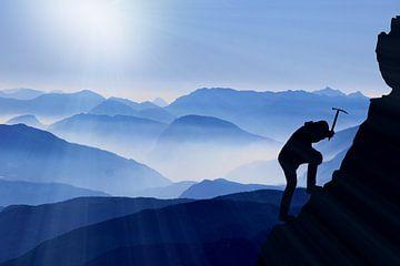 Bergsteiger - Klettern - Wandern van Felix Brönnimann