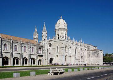 Das Mosteiro dos Jerónimos in Lissabon von Berthold Werner
