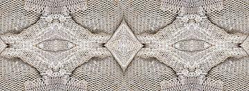 structuur van visnetten van Renée Teunis