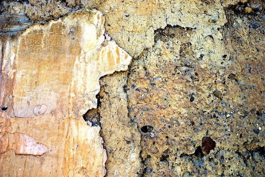 abstracte muur: Living Stone van Sigrid Klop
