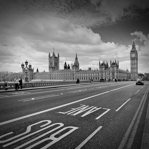 London - Houses Of Parliament  van Melanie Viola