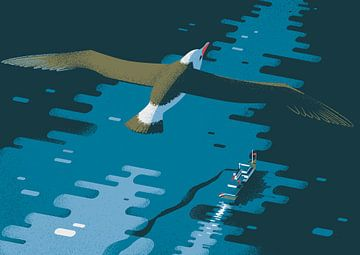 Der Albatros von Eduard Broekhuijsen
