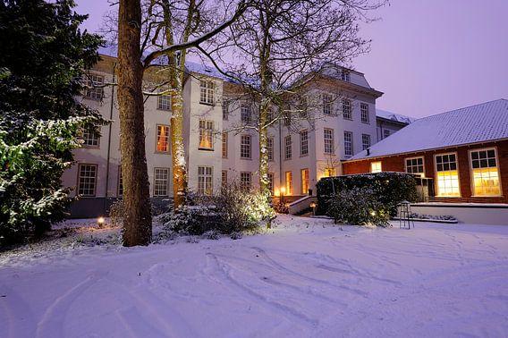 Binnenplaats van Grand Hotel Karel V in Utrecht van Donker Utrecht