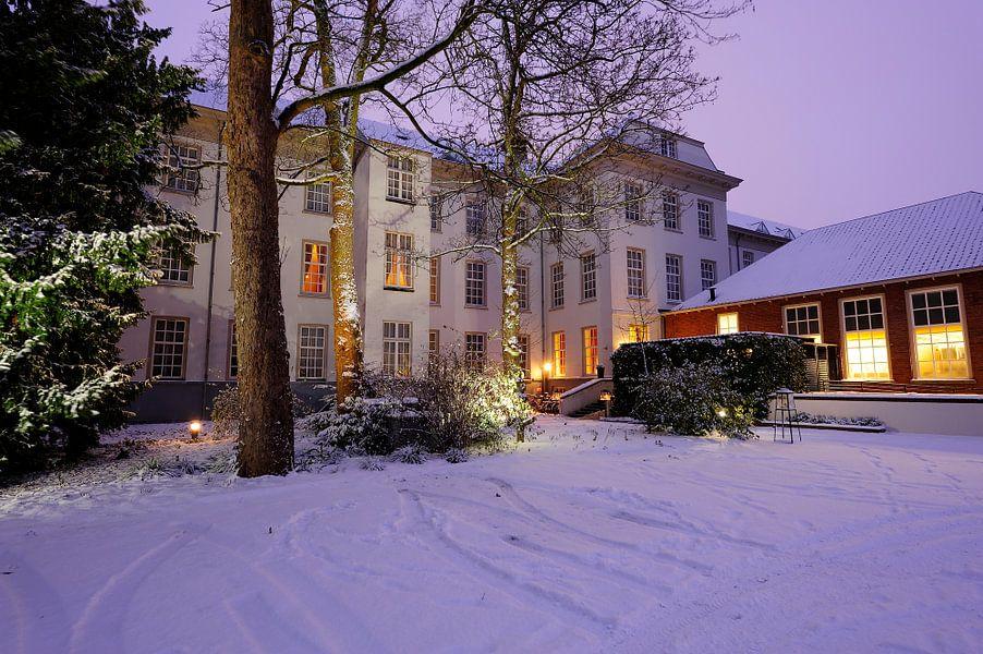Binnenplaats van Grand Hotel Karel V in Utrecht
