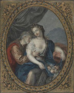 Jean François Janinet, Vertumnus und Pomona, um 1776 von Atelier Liesjes
