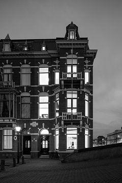 Nachtelijk Den Haag van