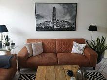 Kundenfoto: Utrecht, Domturm von Paul Piebinga, auf leinwand