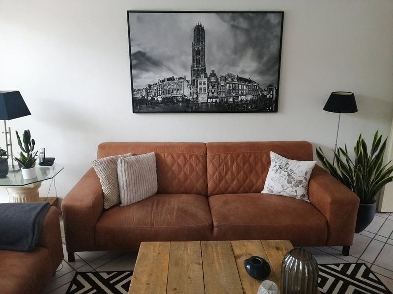 Klantfoto: Utrecht, Domtoren van Paul Piebinga, op canvas