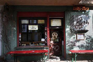 Winkeltje in Berlijn van Herman Peters