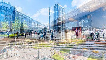Hauptbahnhof Rotterdam von Gini Roth