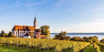Eglise de pèlerinage de Birnau au bord du lac de Constance sur Werner Dieterich