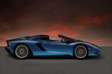 Lamborghini Aventador Roadster sur Gert Hilbink