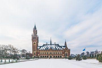 Vredespaleis in de sneeuw van Kevin Coellen