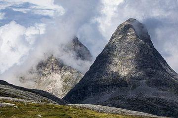 Landschaft mit Berge in Norwegen von Rico Ködder